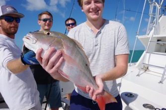But His Brother, Christopher, Had to Surpass Him with the Largest Catch of the Day.